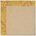 Capel Rugs Creative Concepts Cane Wicker - Cayo Vista Tea Leaf (210) Rectangle 7