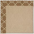 Capel Rugs Creative Concepts Cane Wicker - Arden Chocolate (746) Rectangle 7