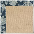 Capel Rugs Creative Concepts Cane Wicker - Bandana Indigo (465) Rectangle 8