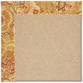 Capel Rugs Creative Concepts Cane Wicker - Tuscan Vine Adobe (830) Rectangle 8