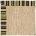 Capel Rugs Creative Concepts Cane Wicker - Vera Cruz Coal (350) Rectangle 8