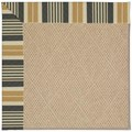 Capel Rugs Creative Concepts Cane Wicker - Long Hill Ebony (340) Rectangle 9