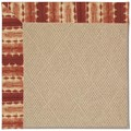 Capel Rugs Creative Concepts Cane Wicker - Java Journey Henna (580) Rectangle 9