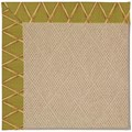 Capel Rugs Creative Concepts Cane Wicker - Bamboo Tea Leaf (236) Rectangle 10