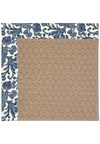 Capel Rugs Creative Concepts Grassy Mountain - Batik Indigo (415) Octagon 4' x 4' Area Rug