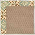 Capel Rugs Creative Concepts Grassy Mountain - Shoreham Spray (410) Octagon 6