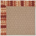 Capel Rugs Creative Concepts Grassy Mountain - Java Journey Henna (580) Octagon 6