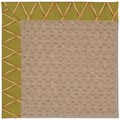 Capel Rugs Creative Concepts Grassy Mountain - Bamboo Tea Leaf (236) Octagon 8