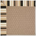 Capel Rugs Creative Concepts Grassy Mountain - Granite Stripe (335) Octagon 8