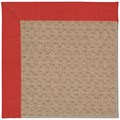 Capel Rugs Creative Concepts Grassy Mountain - Dupione Crimson (575) Octagon 8