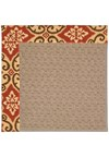 Capel Rugs Creative Concepts Grassy Mountain - Shoreham Brick (800) Octagon 8' x 8' Area Rug