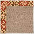 Capel Rugs Creative Concepts Grassy Mountain - Shoreham Brick (800) Octagon 8