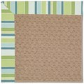 Capel Rugs Creative Concepts Grassy Mountain - Capri Stripe Breeze (430) Octagon 10