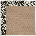 Capel Rugs Creative Concepts Grassy Mountain - Coral Cascade Ebony (385) Octagon 12