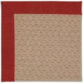Capel Rugs Creative Concepts Grassy Mountain - Canvas Cherry (537) Octagon 12