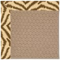 Capel Rugs Creative Concepts Grassy Mountain - Couture King Chestnut (756) Octagon 12