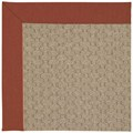 Capel Rugs Creative Concepts Grassy Mountain - Canvas Brick (850) Octagon 12