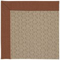 Capel Rugs Creative Concepts Grassy Mountain - Linen Chili (845) Rectangle 7