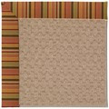 Capel Rugs Creative Concepts Grassy Mountain - Tuscan Stripe Adobe (825) Rectangle 9