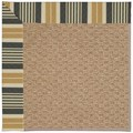 Capel Rugs Creative Concepts Raffia - Long Hill Ebony (340) Octagon 6