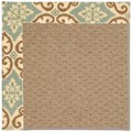 Capel Rugs Creative Concepts Raffia - Shoreham Spray (410) Octagon 6