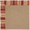 Capel Rugs Creative Concepts Raffia - Java Journey Henna (580) Octagon 6