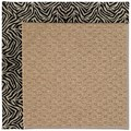 Capel Rugs Creative Concepts Raffia - Wild Thing Onyx (396) Octagon 8