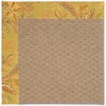 Capel Rugs Creative Concepts Raffia - Cayo Vista Tea Leaf (210) Octagon 12