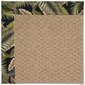 Capel Rugs Creative Concepts Raffia - Bahamian Breeze Coal (325) Octagon 12