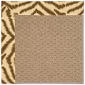 Capel Rugs Creative Concepts Raffia - Couture King Chestnut (756) Octagon 12