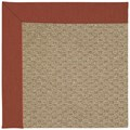 Capel Rugs Creative Concepts Raffia - Canvas Brick (850) Octagon 12