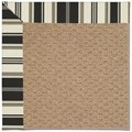 Capel Rugs Creative Concepts Raffia - Down The Lane Ebony (370) Runner 2