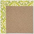 Capel Rugs Creative Concepts Raffia - Shoreham Kiwi (220) Rectangle 3