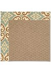 Capel Rugs Creative Concepts Raffia - Shoreham Spray (410) Rectangle 4' x 6' Area Rug