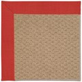 Capel Rugs Creative Concepts Raffia - Dupione Crimson (575) Rectangle 6