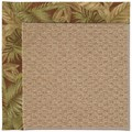 Capel Rugs Creative Concepts Raffia - Bahamian Breeze Cinnamon (875) Rectangle 6