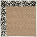 Capel Rugs Creative Concepts Raffia - Coral Cascade Ebony (385) Rectangle 7