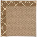 Capel Rugs Creative Concepts Raffia - Arden Chocolate (746) Rectangle 7