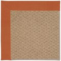 Capel Rugs Creative Concepts Raffia - Canvas Rust (837) Rectangle 7