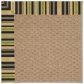 Capel Rugs Creative Concepts Raffia - Vera Cruz Coal (350) Rectangle 8