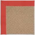 Capel Rugs Creative Concepts Raffia - Canvas Paprika (517) Rectangle 8