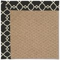 Capel Rugs Creative Concepts Raffia - Arden Black (346) Rectangle 8