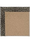 Capel Rugs Creative Concepts Raffia - Wild Thing Onyx (396) Rectangle 8' x 10' Area Rug