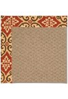 Capel Rugs Creative Concepts Raffia - Shoreham Brick (800) Rectangle 8' x 10' Area Rug