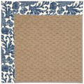Capel Rugs Creative Concepts Raffia - Batik Indigo (415) Rectangle 9