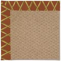 Capel Rugs Creative Concepts Raffia - Bamboo Cinnamon (856) Rectangle 12