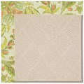 Capel Rugs Creative Concepts White Wicker - Cayo Vista Mojito (215) Octagon 4