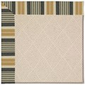Capel Rugs Creative Concepts White Wicker - Long Hill Ebony (340) Octagon 6