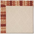 Capel Rugs Creative Concepts White Wicker - Java Journey Henna (580) Octagon 6