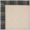 Capel Rugs Creative Concepts White Wicker - Vera Cruz Ocean (445) Octagon 8